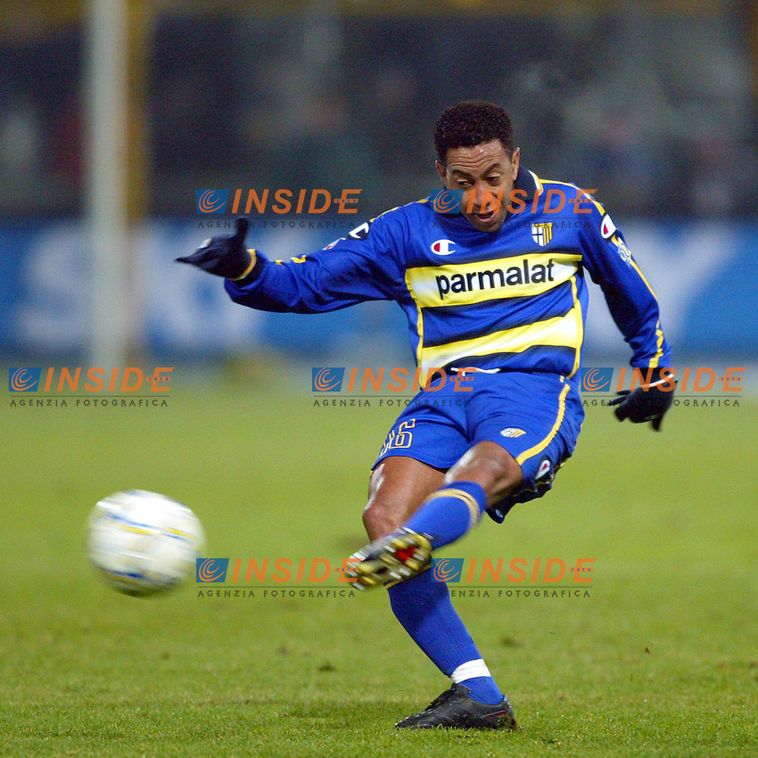 Parma 10/1/2004<br /> Parma Inter 1-0<br /> Junior (Parma)<br /> Photo Andrea Staccioli Insidefoto