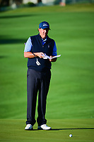 Phil Mickelson (USA) looks over his putt on 5 during round 4 of the World Golf Championships, Dell Technologies Match Play, Austin Country Club, Austin, Texas, USA. 3/25/2017.<br /> Picture: Golffile | Ken Murray<br /> <br /> <br /> All photo usage must carry mandatory copyright credit (&copy; Golffile | Ken Murray)