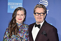 PALM SPRINGS, CA - JANUARY 03: Gisele Schmidt (L) and Gary Oldman attend the 30th Annual Palm Springs International Film Festival Film Awards Gala at Palm Springs Convention Center on January 3, 2019 in Palm Springs, California.<br /> CAP/ROT/TM<br /> ©TM/ROT/Capital Pictures