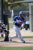 Willie Calhoun - Los Angeles Dodgers 2016 spring training (Bill Mitchell)