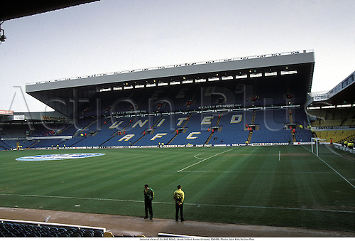 General view of ELLAND ROAD, Leeds United Home Ground, 950409. Photo: Glyn Kirk/Action Plus....venues.soccer.association football.1995.stadium.stadiums.stadia.venue