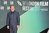 Adrian Scarborough at the 61st BFI LFF &quot;On Chesil Beach&quot; Love gala, Embankment Garden Cinema, Villiers Street, London, England, UK, on Sunday 08 October 2017.<br /> CAP/CAN<br /> &copy;CAN/Capital Pictures