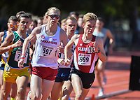 Stanford, Ca - Friday March 31, 2017: Will Lauer at the Stanford Invitational at Cobb Field.