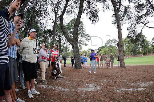 27.11.2014. Sydney, Australia. Australian Open Golf Championship, Round 1 held at The Australian Golf Club.  Jordan Spieth