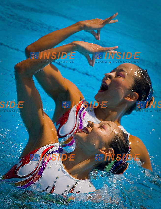 Roma 24st July 2009 - 13th Fina World Championships From 17th to 2nd August 2009.Duet Free.CHN P..R. of China JIANG Tingting 25 SEP 1986.JIANG Wenwen 25 SEP 1986.photo: Roma2009.com/InsideFoto/SeaSee.com