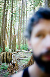 David Banks in Washington State's Olympic National Forest, summer 2009.