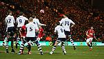 Angel Di Maria of Manchester United takes a free kick - FA Cup Fifth Round - Preston North End  vs Manchester Utd  - Deepdale Stadium - Preston - England - 16th February 2015 - Picture Simon Bellis/Sportimage