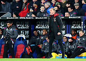 9th December 2017, Selhurst Park, London, England; EPL Premier League football, Crystal Palace versus Bournemouth; Bournemouth Manager Eddie Howe shouts instructions to his players