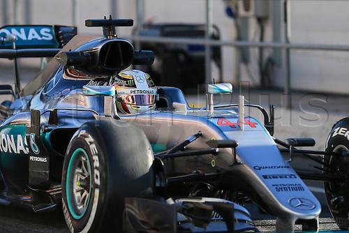 04.03.2016. Circuit de Barcelona Catalunya, Barcelona, Spain, Formula 1  Test 2 Day 4.  Mercedes AMG Petronas W07 Hybrid – Lewis Hamilton