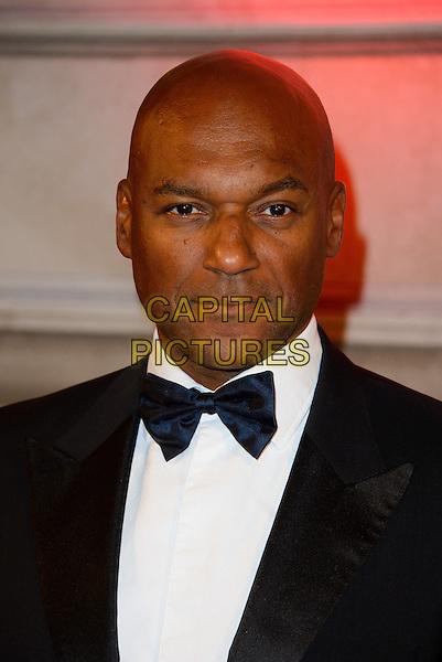 Colin Salmon<br /> The BFI Luminous Gala, London, England.<br /> 8th October 2013<br /> headshot portrait black white tuxedo bow tie<br /> CAP/CJ<br /> &copy;Chris Joseph/Capital Pictures