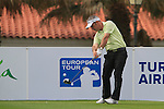 Paul McGinley (IRL) in action on the 1st tee during Day 2 Friday of the Open de Andalucia de Golf at Parador Golf Club Malaga 25th March 2011. (Photo Eoin Clarke/Golffile 2011)
