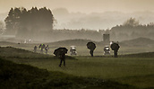 1st October 2017, Windross Farm, Auckland, New Zealand; LPGA McKayson NZ Womens Open, final round;  Fans and players make their way off the course after play was abandoned due to weather
