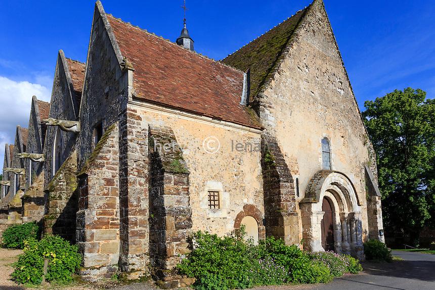 France, Orne (61), Moutiers-au-Perche, église Notre-Dame du Mont-Harou // France, Orne, Moutiers au Perche, Notre Dame du Mont Harou church