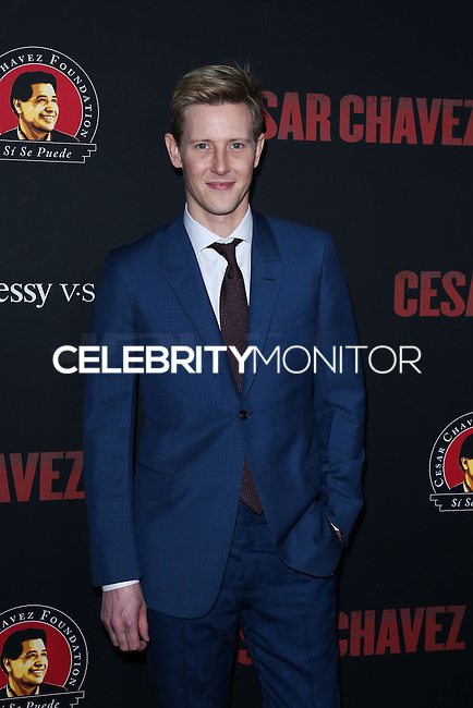 "HOLLYWOOD, LOS ANGELES, CA, USA - MARCH 20: Gabriel Mann at the Los Angeles Premiere Of Pantelion Films And Participant Media's ""Cesar Chavez"" held at TCL Chinese Theatre on March 20, 2014 in Hollywood, Los Angeles, California, United States. (Photo by David Acosta/Celebrity Monitor)"