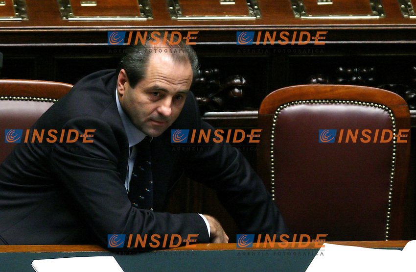 Roma 11/10/2006 Camera dei Deputati. Question Time. Il Ministro delle Infrastrutture Antonio Di Pietro <br /> Photo Serena Cremaschi INSIDE (www.insidefoto.com)