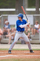 Jackson Miller (10) during the WWBA World Championship at the Roger Dean Complex on October 12, 2019 in Jupiter, Florida.  Jackson Miller attends JW Mitchell High School in Trinity, FL and is committed to Wake Forest.  (Mike Janes/Four Seam Images)
