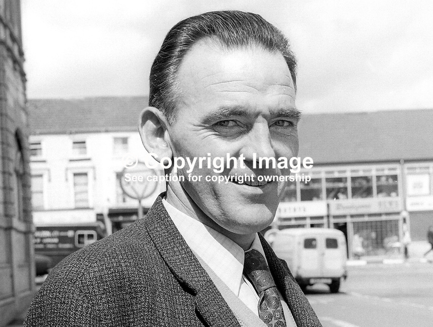Michael Connolly, candidate, Alliance Party, N Ireland Assembly, Election, June, 1973, 197306000478.<br />