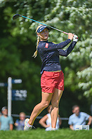 Charley Hull (ENG) watches her tee shot on 15 during round 2 of the 2018 KPMG Women's PGA Championship, Kemper Lakes Golf Club, at Kildeer, Illinois, USA. 6/29/2018.<br /> Picture: Golffile | Ken Murray<br /> <br /> All photo usage must carry mandatory copyright credit (© Golffile | Ken Murray)