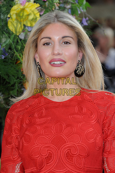 LONDON, ENGLAND - APRIL 13: Hofit Golan attends the UK Premiere of A Little Chaos at Kensington Odeon on April 13, 2015 in London, England.<br /> CAP/BEL<br /> &copy;BEL/Capital Pictures