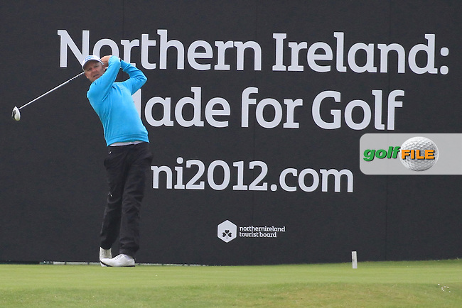 during round 3 of the Irish Open at Royal Portrush GC,Portrush,County Antrim,Ireland. 30/6/12.Picture Fran Caffrey www.golffile.ie