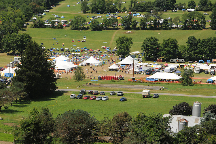 Overview of the Falcon Ridge Folk Festival, held on Dodd's Farm in Hillsdale, NY on Sunday, August 2, 2015. Photo by Jim Peppler. Copyright Jim Peppler 2015.