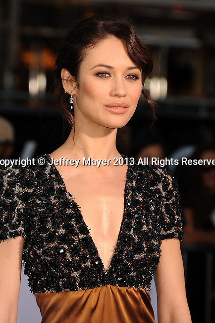 HOLLYWOOD, CA- APRIL 10: Olga Kurylenko arrives at the 'Oblivion' - Los Angeles Premiere at Dolby Theatre on April 10, 2013 in Hollywood, California.