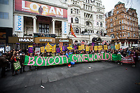 25.02.2017 - Picturehouse Workers On Strike For London Living Wage