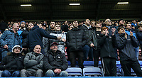 Bolton Wanderers' supporters enjoying the match at the DW Stadium <br /> <br /> Photographer Andrew Kearns/CameraSport<br /> <br /> The EFL Sky Bet Championship - Wigan Athletic v Bolton Wanderers - Saturday 16th March 2019 - DW Stadium - Wigan<br /> <br /> World Copyright &copy; 2019 CameraSport. All rights reserved. 43 Linden Ave. Countesthorpe. Leicester. England. LE8 5PG - Tel: +44 (0) 116 277 4147 - admin@camerasport.com - www.camerasport.com