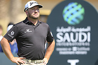 Graeme McDowell (NIR) on the 1st during the final round of  the Saudi International powered by Softbank Investment Advisers, Royal Greens G&CC, King Abdullah Economic City,  Saudi Arabia. 02/02/2020<br /> Picture: Golffile | Fran Caffrey<br /> <br /> <br /> All photo usage must carry mandatory copyright credit (© Golffile | Fran Caffrey)