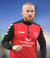 Fleetwood Town's Paddy Madden during the pre-match warm-up <br /> <br /> Photographer Kevin Barnes/CameraSport<br /> <br /> The EFL Sky Bet League One - Shrewsbury Town v Fleetwood Town - Tuesday 1st January 2019 - New Meadow - Shrewsbury<br /> <br /> World Copyright © 2019 CameraSport. All rights reserved. 43 Linden Ave. Countesthorpe. Leicester. England. LE8 5PG - Tel: +44 (0) 116 277 4147 - admin@camerasport.com - www.camerasport.com
