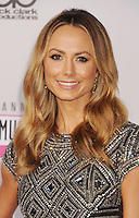 LOS ANGELES, CA - NOVEMBER 18: Stacy Keibler attends the 40th Anniversary American Music Awards held at Nokia Theatre L.A. Live on November 18, 2012 in Los Angeles, California.PAP1112JP313..PAP1112JP313..
