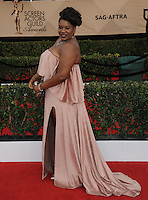 www.acepixs.com<br /> <br /> January 29 2017, LA<br /> <br /> Adrienne C. Moore arriving at the 23rd Annual Screen Actors Guild Awards at The Shrine Expo Hall on January 29, 2017 in Los Angeles, California<br /> <br /> By Line: Peter West/ACE Pictures<br /> <br /> <br /> ACE Pictures Inc<br /> Tel: 6467670430<br /> Email: info@acepixs.com<br /> www.acepixs.com