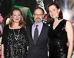 Kristine Nielsen, David Hyde Pierce & Sigourney Weaver attending the Opening Night After Party for the Lincoln Center Theater production of 'Vanya and Sonia and Masha and Spike' at the Mitzi E. Newhouse Theater in New York City on 11/12/2012