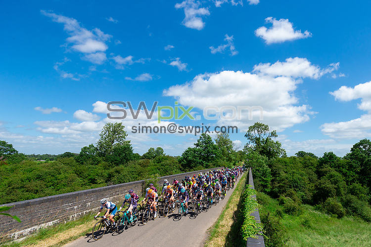 Picture by Alex Whitehead/SWpix.com - 14/06/2018 - Cycling - 2018 OVO Energy Women's Tour - Stage 2, Rushden to Daventry.