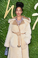 Jorja Smith<br /> arriving for The Fashion Awards 2017 at the Royal Albert Hall, London<br /> <br /> <br /> &copy;Ash Knotek  D3356  04/12/2017