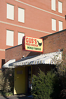 Memphis, Tennessee, February 2009. Gus's famous fried chicken.  The city of Memphis is the place where Blues and Soul Music grew famous. Photo by Frits Meyst/Adventure4ever.com