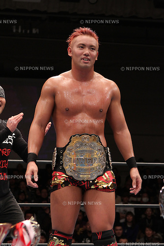 Kazuchika Okada,.MARCH 4, 2012 - Pro Wrestling :.New Japan Pro-Wrestling event at Korakuen Hall in Tokyo, Japan. (Photo by Yukio Hiraku/AFLO)
