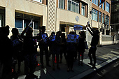 092817JCRA Protest at Qatar Embassy Take