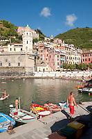 Small port of Vernazza, Cinque Terre, Liguria, Italy