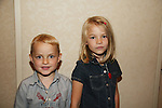 Lucy Merriam and brother Joe attend All My Children Fan Luncheon on September 13, 2009 at the New York Helmsley Hotel, NYC, NY. (Photo by Sue Coflin/Max Photos)