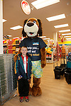 Sean O'Neill and Dougie at the opening of the Dealz new store in Mullingar Co West Meath.<br /> <br /> Picture Newsfile/Professional Images