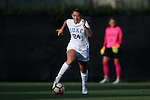 11 September 2016: Duke's Morgan Reid. The Duke University Blue Devils hosted the High Point University Panthers at Koskinen Stadium in Durham, North Carolina in a 2016 NCAA Division I Women's Soccer match. Duke won the match 4-1.