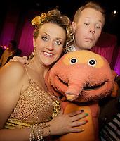 Oslo, 20091010. Skal vi danse. Margrethe Røed, Asmund Grindaker, dyret