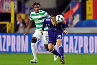 ANDERLECHT, BELGIUM - SEPTEMBER 27 :  Lukasz Teodorczyk forward of RSC Anderlecht battles for the ball with Dedryck Boyata defender of Celtic FC during the Champions League Group B  match between RSC Anderlecht and Celtic FC on September 27, 2017 in Anderlecht, Belgium, 27/09/2017 (<br /> Foto Photonews/Panoramic