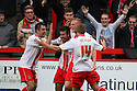Michael Doughty of Stevenage (on loan from QPR) celebrates scoring their second goal<br />  - Stevenage v Crawley Town - Sky Bet League 1 - Lamex Stadium, Stevenage - 26th October, 2013<br />  © Kevin Coleman 2013<br />  <br />  <br />  <br />  <br />  <br />  <br />  <br />  <br />  <br />  <br />  <br />  <br />  <br />  <br />  <br />  <br />  <br />  <br />  <br />  <br />  <br />  <br />  <br />  <br />  <br />  <br />  <br />  <br />  <br />  <br />  <br />  <br />  <br />  <br />  <br />  <br />  <br />  <br />  <br />  <br />  <br />  <br />  <br />  <br />  <br />  <br />  <br />  <br />  <br />  <br />  <br />  - Crewe Alexandra v Stevenage - Sky Bet League One - Alexandra Stadium, Gresty Road, Crewe - 22nd October 2013. <br /> © Kevin Coleman 2013