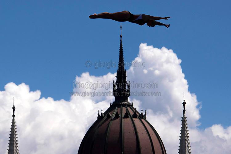 Traning <br /> High diving<br /> Women's 1st round<br /> day 15 28/07/2017 <br /> XVII FINA World Championships Aquatics<br /> Photo © Giorgio Perottino/Deepbluemedia/Insidefoto