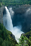Helmcken Falls on Murtle river in Wells Gray Provincial Park in B.C. Canada