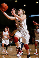 STANFORD, CA - NOVEMBER 8:  Lindy LaRocque of the Stanford Cardinal during Stanford's 107-55 win over the UCSD Toreros on November 8, 2009 at Maples Pavilion in Stanford, California.