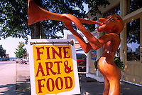 Sussex, NB, New Brunswick, Canada - Fine Art & Food Sign