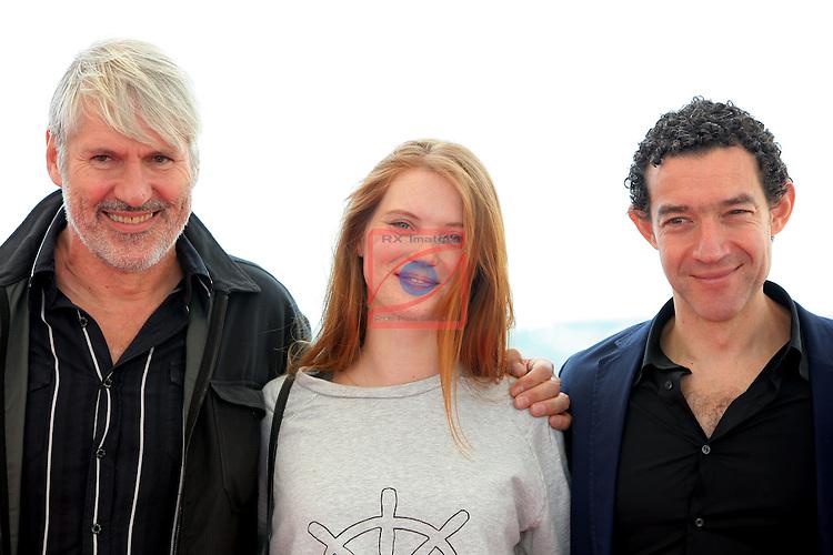 49 Festival Internacional de Cinema Fantastic de Catalunya-Sitges 2016.<br /> Photocall Mon Age.<br /> Harry Cleven &amp; Fleur Geffrier.
